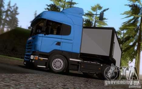 Scania R500 для GTA San Andreas вид сзади
