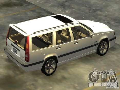 Volvo 850 R 1996 Rims 2 для GTA 4 вид слева
