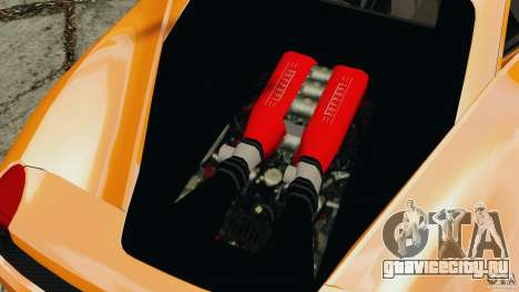 Ferrari 458 Italia 2010 v3.0 для GTA 4 вид сзади