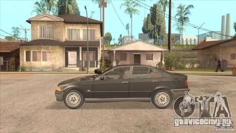 BMW 316i E36 для GTA San Andreas вид слева