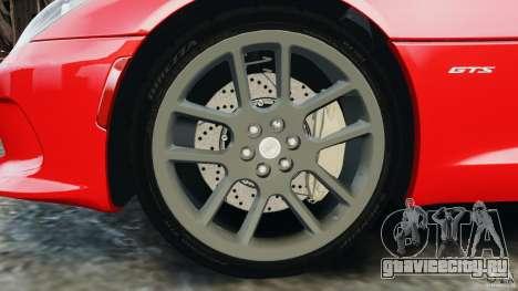 SRT Viper GTS 2013 для GTA 4 вид сбоку