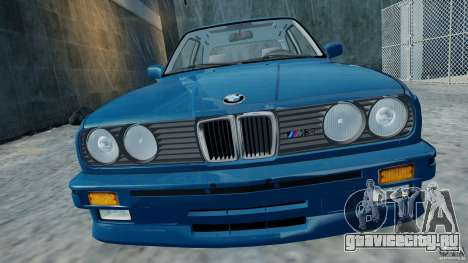 BMW M3 E30 FINAL для GTA 4 вид сзади слева