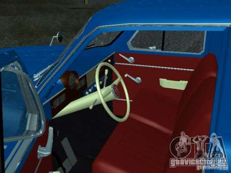Москвич 429 для GTA San Andreas вид сзади