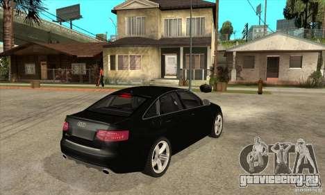 Audi RS6 2010 для GTA San Andreas вид справа