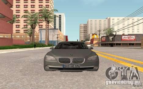 BMW 730d для GTA San Andreas вид слева