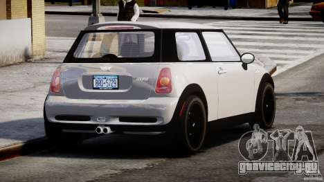 Mini Cooper S 2003 v1.2 для GTA 4 вид сбоку