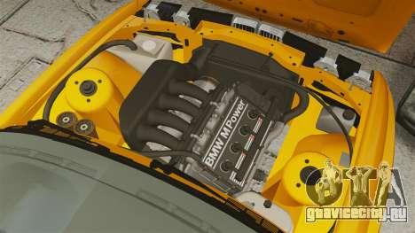 BMW M3 E30 v2.0 для GTA 4 вид изнутри