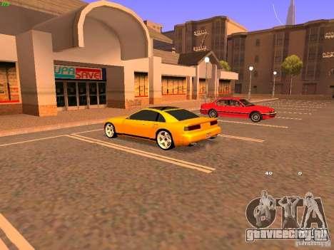 New Euros для GTA San Andreas вид слева