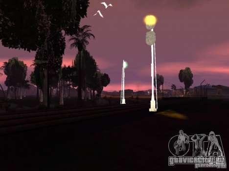 Железнодорожные светофоры 2 для GTA San Andreas шестой скриншот
