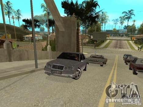 Mercedes-Benz W124 E500 для GTA San Andreas вид слева