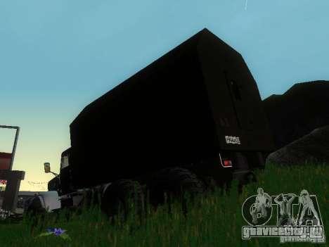КрАЗ-255Б для GTA San Andreas вид сзади слева