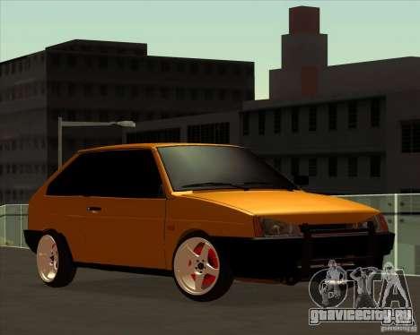 ВАЗ 2108 (версия с белыми дисками) для GTA San Andreas