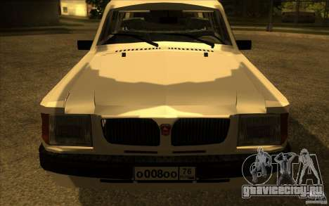 ГАЗ 311021 Волга для GTA San Andreas вид справа