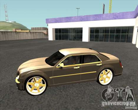 Chrysler 300C dub edition для GTA San Andreas вид слева