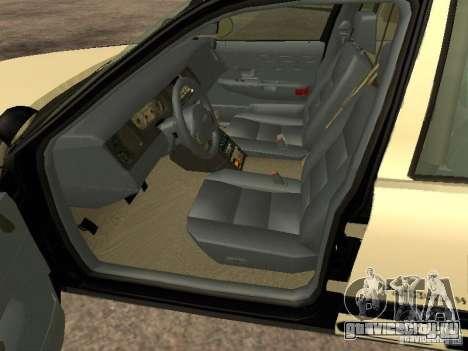 Ford Crown Victoria 2003 Police для GTA San Andreas вид сзади слева