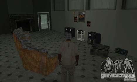 Новые интерьеры безопасных домов для GTA San Andreas двенадцатый скриншот