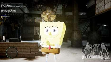 Спанч Боб для GTA 4 пятый скриншот