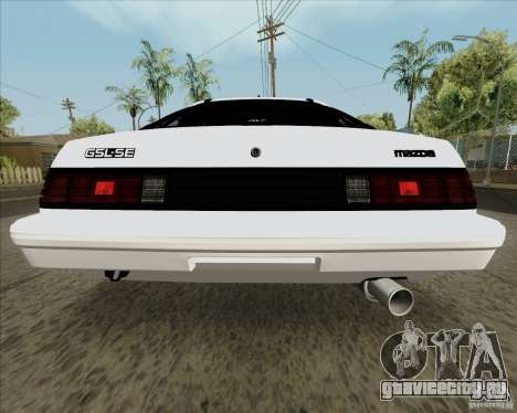 Mazda RX-7 FB Race для GTA San Andreas вид справа