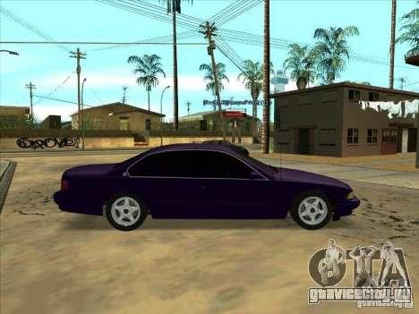 Chevrolet Impala SS 1995 для GTA San Andreas вид слева
