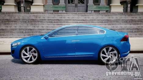 Volvo S60 Concept для GTA 4 вид слева