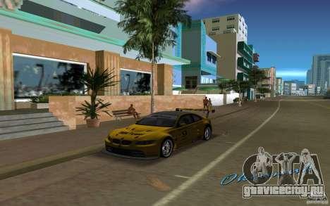 BMW M3 GT2 для GTA Vice City вид сзади слева