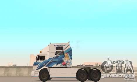КамАЗ-РИАТ-54112 для GTA San Andreas вид справа