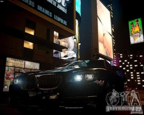 BMW 750Li 2013 для GTA 4 вид сзади