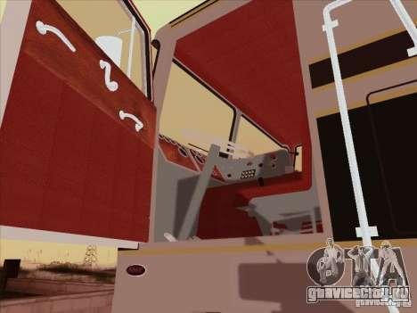 Peterbilt 352 для GTA San Andreas вид изнутри