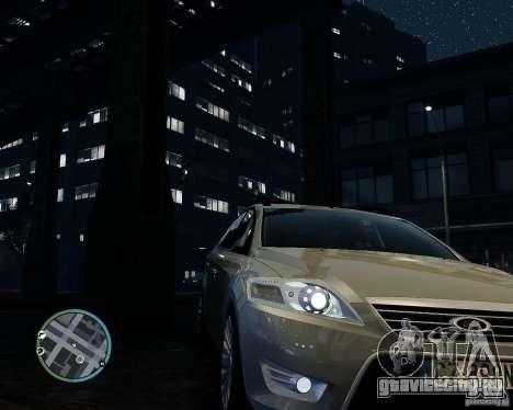 Ford Mondeo Mk4 для GTA 4 вид сзади