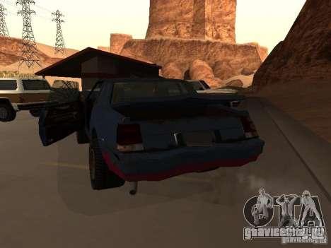 Emperor Rusty из GTA 4 для GTA San Andreas вид сзади слева