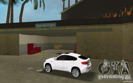 BMW X6M 2010 для GTA Vice City вид слева