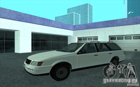 Ingot из GTA 4 для GTA San Andreas вид слева