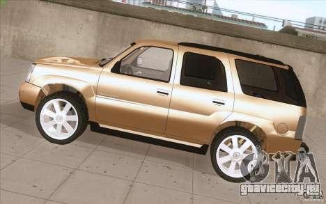 Cadillac Escalade 2004 для GTA San Andreas вид слева