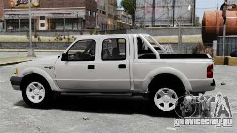 Ford Ranger 2008 XLR для GTA 4 вид слева