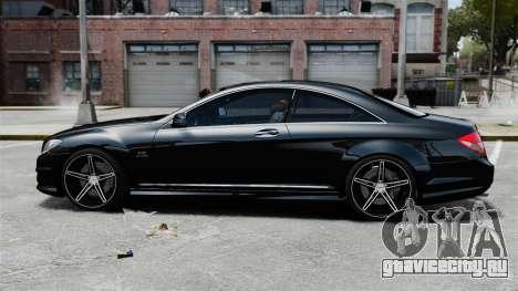 Mercedes-Benz CL65 AMG v1.1 для GTA 4 вид слева