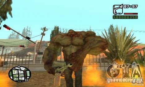 Танк из Left 4 Dead для GTA San Andreas пятый скриншот