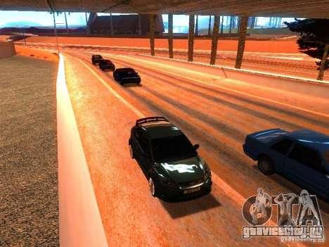 Нормальные водилы на трассе для GTA San Andreas четвёртый скриншот