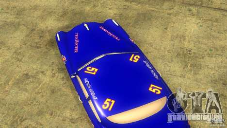 Hornet 51 для GTA San Andreas вид сзади