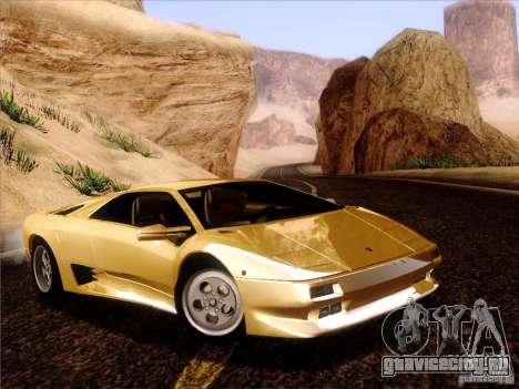 Lamborghini Diablo VT 1995 V3.0 для GTA San Andreas