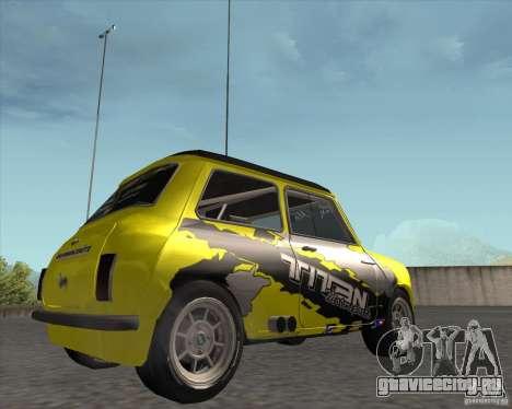 Mini Cooper S Titan Motorsports для GTA San Andreas вид справа