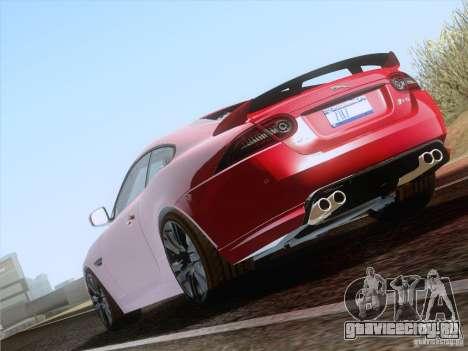 Jaguar XKR-S 2011 V2.0 для GTA San Andreas вид справа