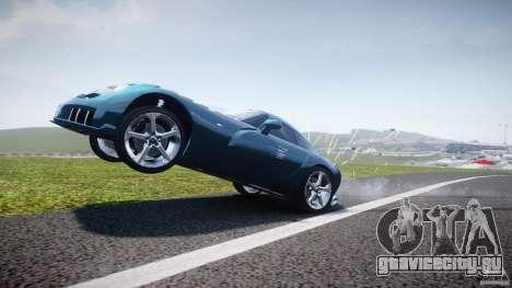 TVR Sagaris для GTA 4 вид снизу