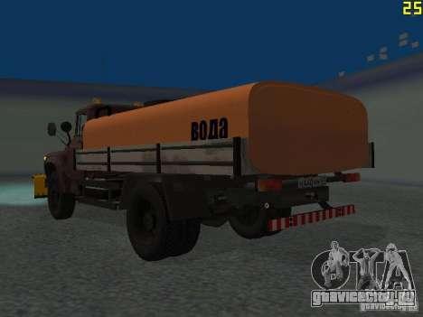 КО-829 на шасси ЗиЛ-130 beta для GTA San Andreas вид сзади слева