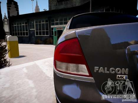 Ford Falcon XR-8 для GTA 4 вид слева