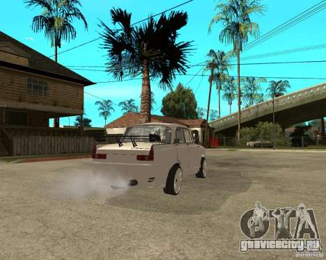 АЗЛК 412 tuned для GTA San Andreas вид сзади слева