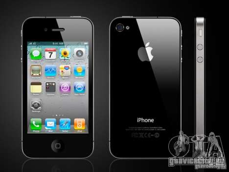 Iphone 4G Чёрный для GTA San Andreas