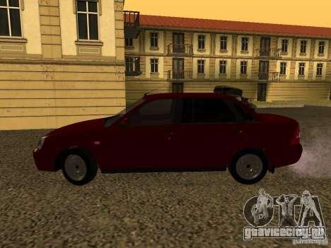 ВАЗ 2170 Премьер для GTA San Andreas вид сзади слева