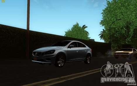 Volvo S60 2011 для GTA San Andreas вид слева