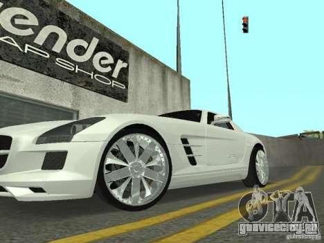 Luxury Wheels Pack для GTA San Andreas второй скриншот