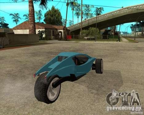 AP3 cobra для GTA San Andreas вид сзади слева